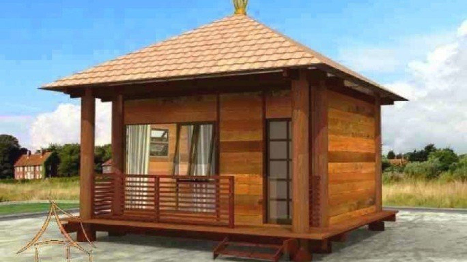 rumah kayu bandung