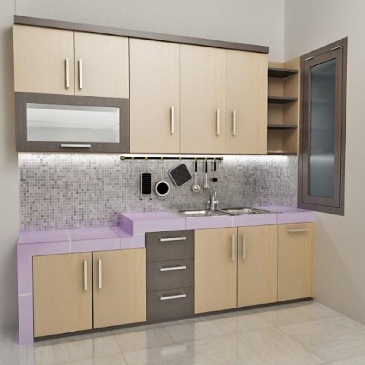 harga kitchen set per meter lari